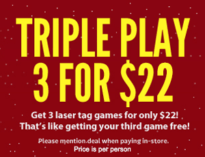 Triple Play - 3 games for $22